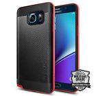 Spigen® Neo Hybrid® Carbon Texture Back Bumper Case for Samsung Galaxy Note 5