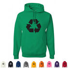 Recycle Go Green Earth Day Environmental Nature Eco Friendly Graphic Hoodies