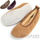 Ladies Genuine Sheepskin Lightweight Ballerina Style / Pumps / Slipper