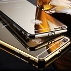 2015 Luxury Aluminum Ultra-thin Metal Mirror Case Cover for iPhone 6S 6S Plus 1X