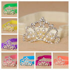 Fashion Baby Kids Infant Toddler Girl Princess Crown Pearl Headband Hair Band