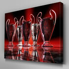 S217 Liverpool FC 5 European Championships Canvas Art Ready to Hang Picture