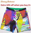 "NWT Tommy Bahama Men MAUI ELECTRIC Relax 9"" Swim Trunks Board Shorts 32 34 36"