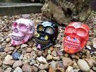 Hand Made Resin Sugar Skull Skulls Candy Skeleton Day Of The Dead Gothic Head