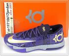 2014 Nike KD VI 6 Black History Month BHM Purple Gold 646742-500 US 10 KD 8 7 6
