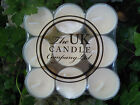 fragrance  tea lights pack of 18 VANILLA the uk candle company ltd IVORY COLOR