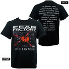 Authentic FEAR FACTORY Band SOANM Soul Of A New Machine T-Shirt S-2XL NEW