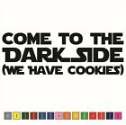 STAR WARS Dark Side Cookies Vinyl Decal / Sticker - Choose Size & Color $2.95 USD