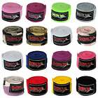 Boxing Hand Wraps Bandages Fist Inner Gloves MMA Muay Thai Pairs, Multi Colors