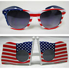 New Unisex Retro Patriot Sunglasses American Flag, Pack of 1,2, 3, 4, 5 pairs