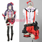 Love Live OP1 Nozomi Tojo Uniform Dress Outift Cosplay Theatrical Costumes AA11
