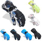 Men Winter Warm Sports windproof Waterproof Motorcycle Snowboard -30℃ Ski Gloves