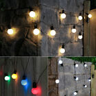 4.5M INDOOR OUTDOOR FESTOON BULB BATTERY FAIRY STRING LIGHTS WITH TIMER, 10 LEDS