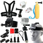 35-in-1 Head Chest Wrist Mount Self Monopod Accessories Set Kit For GoPro Hero