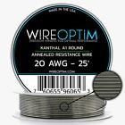 Kanthal A1 AWG 16 18 20 21 22 23 24 25 26 27 28 29 30 31 32 34 36 38 40 25-1000' фото