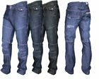 New Mens Crosshatch Designer Newport Regular Fit Denim Straight Leg Jeans