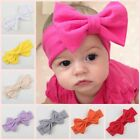 Girls Kids Baby Cotton Bow Hairband Headband Lovely Turban Knot Head Wrap