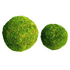 "6"" 8""  PADDED MOSS EFFECT BALLS HOLLY FLORISTRY CHRISTMAS WREATH DECORATION"