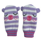 Baby Toddlers Childrens Gloves Mittens With Cute Animal Faces