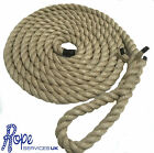 "Natural Gym Climbing Rope, Fitness, Indoor, Tree With 6"" Soft Eye"