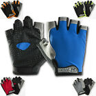 Breathable Cycling Bike Bicycle Sports Gel Pad Half Finger Gloves M-L BRAND NEW