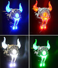 Bull Head Bike Bicycle Cycling USB Rechargeable Tail Rear LED Laser Light Lamp