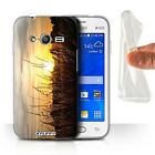 STUFF4 Gel/TPU Case/Cover for Samsung Galaxy Trend Neo/G313/Sunset Scenery