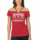 San Francisco 49ers Majestic Women's Football Miracle T-Shirt - Scarlet/Gold $14.99 USD on eBay