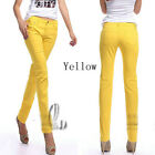AU STOCK SEXY SKINNY LEG SLIM STRETCH JEANS PENCIL PANTS MULTI-COLOUR  P126