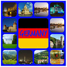 GERMANY - SOUVENIR NOVELTY COASTERS - EASY CLEAN - NEW - GIFT IDEAS / XMAS