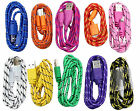 For Iphone6 Plus 5s 5c Braided Fabric Cable Cord Usb Data Sync Charger 3/6/10ft