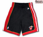 Adidas Performance Miami Heat NBA basketball basket youth size black shorts