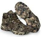 NC Mens High Top Warm Outdoor Climbing 729185 Camo Military Tactical Desert Boot