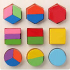 Brain Puzzle Game Wooden Toy Block Box Kid Toddler Educational Learn Craft Set