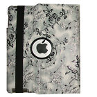 360 Rotating Magnetic Leather Case Smart Cover Stand Fr iPad 2 3 4/Mini Air Pro