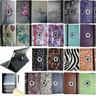 360 Rotating Magnetic Leather Case Smart Cover Stand iPad 2 3 4 9.7 Mini Air Pro