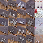 WHOLESALE FASHION JEWELRY Silver WOMENS 925STERLING SILVER EARRING XMAS GIFT