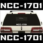 Star Trek NCC-1701 Sticker / Vinyl Decal - Choose Size & Color - Enterprise on eBay