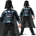 CK582 Darth Vader Muscle Chest Shirt Star Wars Fancy Dress Boys Party Costume