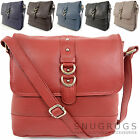 Ladies / Womens Soft Premium Leather Stylish Cross Body / Shoulder Bag