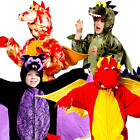 Dinosaur Dragon & Bat Animal Fancy Dress Halloween Book Day Boys Girls Costume