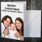 MERRY CHRISTMAS PHOTO CARD UPLOAD PHOTO AND TEXT A6 QUALITY PRINT + FREE ENV