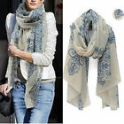 Fashion Girl/Women/Lady Long Soft Chiffon Scarf Wrap Shawl Stole Scarves Gift