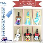 Travel Luggage Baggage School name label Tags Name ID Suitcase Bag Frozen Minion