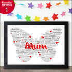 Used, Personalised Mum Birthday Christmas Gifts Presents - Mummy Mother I Love You for sale  United Kingdom