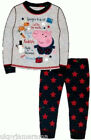Boys Long Christmas Pyjamas George from Peppa Pig PJs Xmas BNWT Free Postage