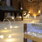 50 LED MAINS OPERATED MICRO SILVER WIRE STRING FAIRY WEDDING HOME LIGHT 4.5M