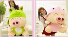 New Frog Design Fat Mcdull Piggy/Pig Plush Toys 2 4colors