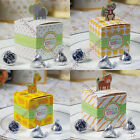 1/4/10x Gift Candy Bomboniere Boxes Baby Shower Birthday Party Favor Decorations