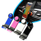 360 Rotatable Universal Car Air Vent Holder Mount for iPhone 5 6 Samsung GPS hot